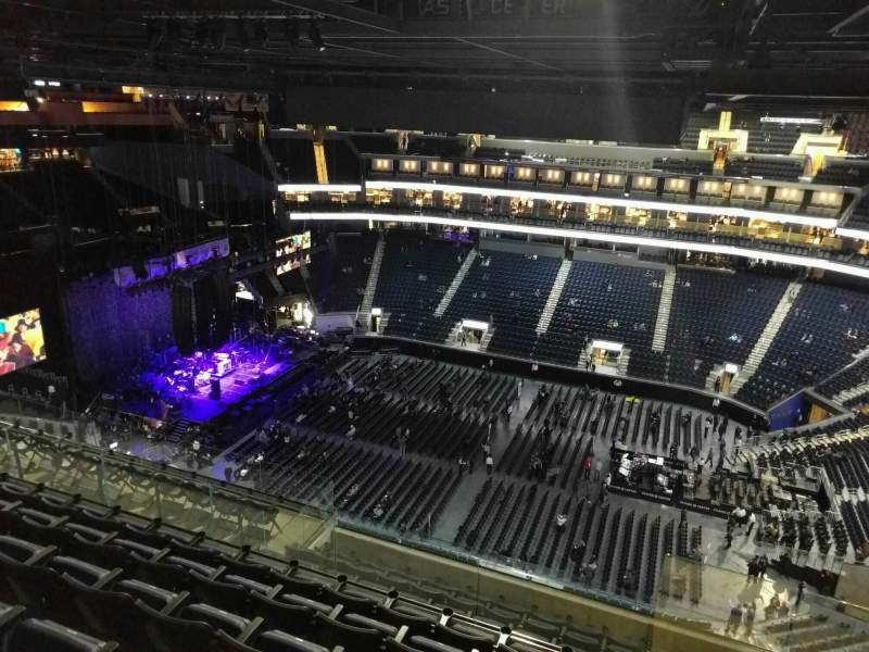 Seating view for Chase Center Section 219 Row 15 Seat 5