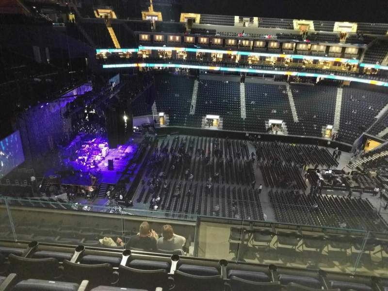 Seating view for Chase Center Section 221 Row 13 Seat 10