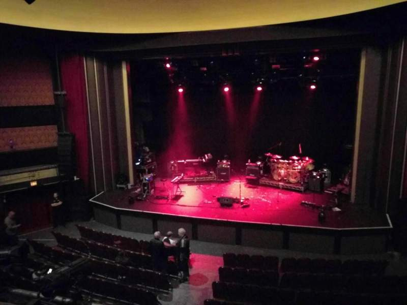 Seating view for Vogue Theatre Section Dress Circle Row 2 Seat 225