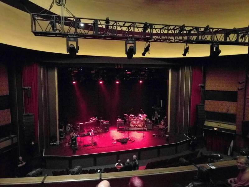 Seating view for Vogue Theatre Section dress circle Row 5 Seat 112