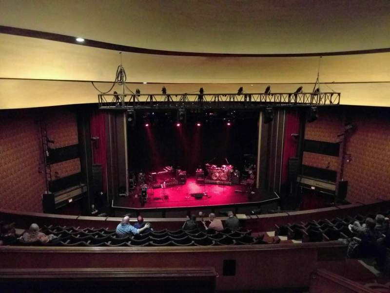 Seating view for Vogue Theatre Section upper circle Row 10 Seat 119
