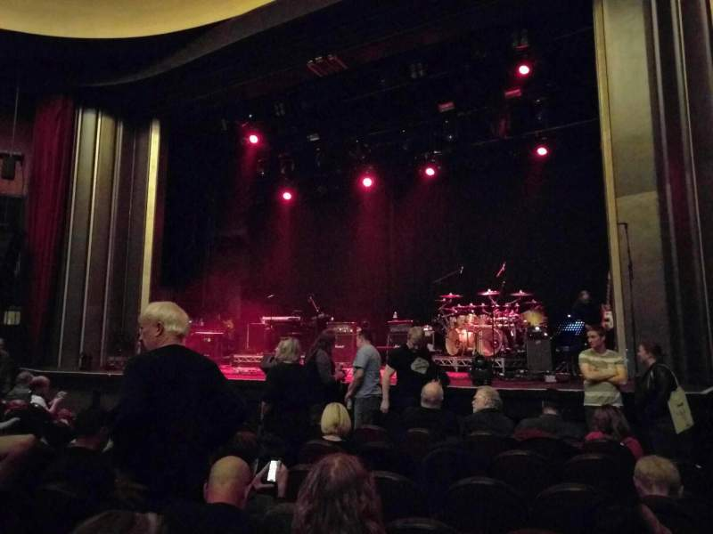 Seating view for Vogue Theatre Section Orchestra Right Row 8 Seat 32