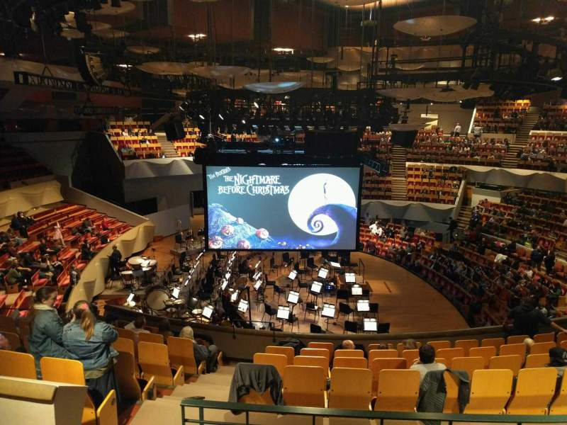 Seating view for Boettcher Concert Hall Section Mezzanine 7 Row n Seat 32