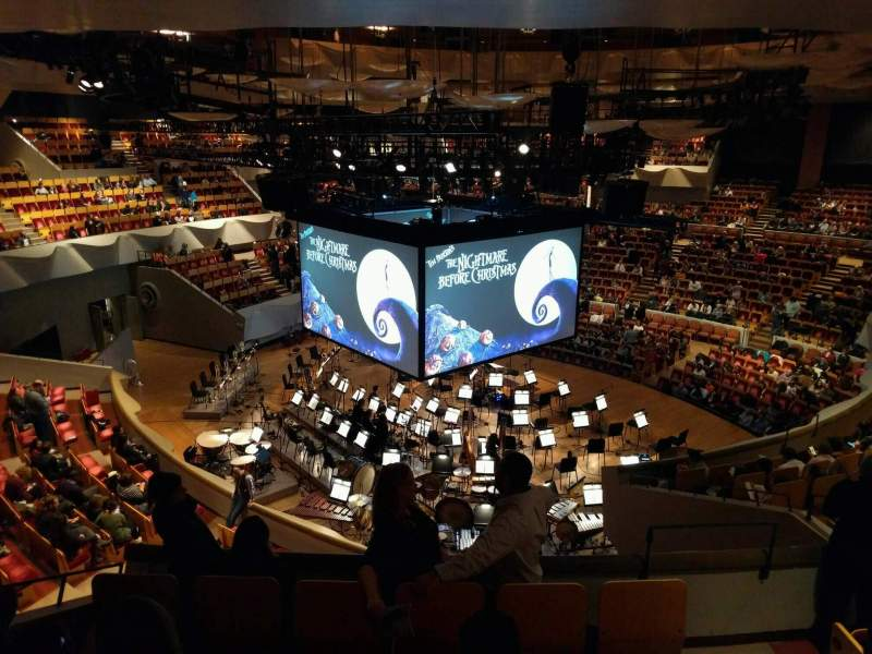 Seating view for Boettcher Concert Hall Section Mezzanine 2 Row o Seat 12