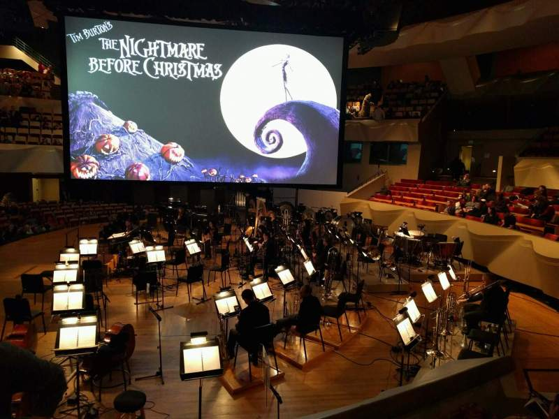 Seating view for Boettcher Concert Hall Section Dress Circle 1 Row c Seat 10