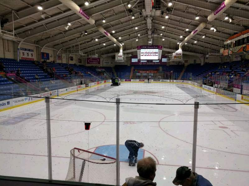 Seating view for 1st Summit Arena Section 20 Row f Seat 12