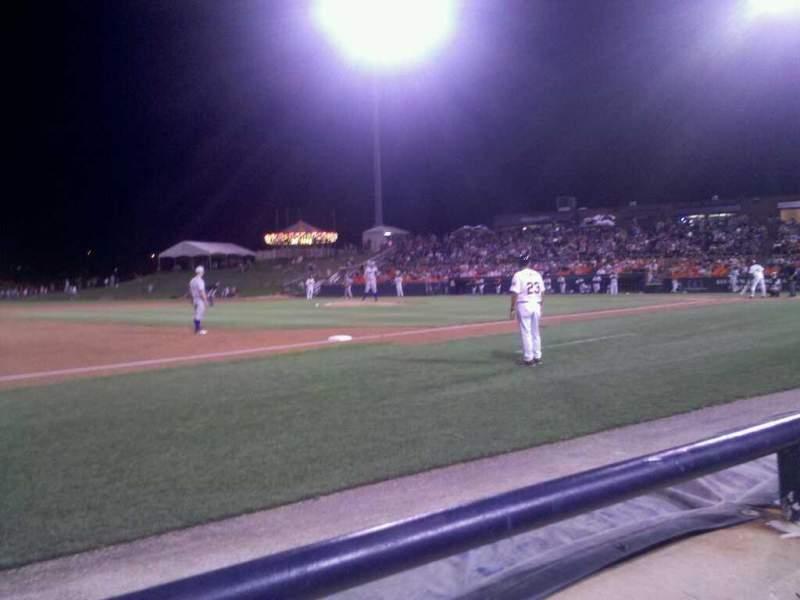 Harry Grove Stadium, section: 120, row: A, seat: 2