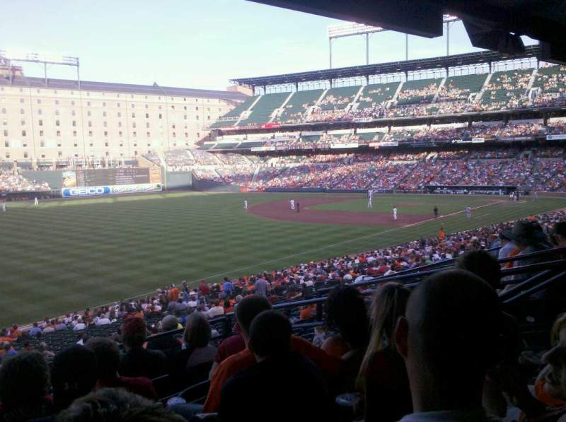 Seating view for Oriole Park at Camden Yards Section 69 Row 6 Seat 7