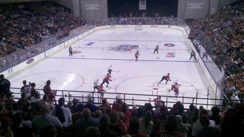 Royal Farms Arena, section: 228, row: M, seat: 10