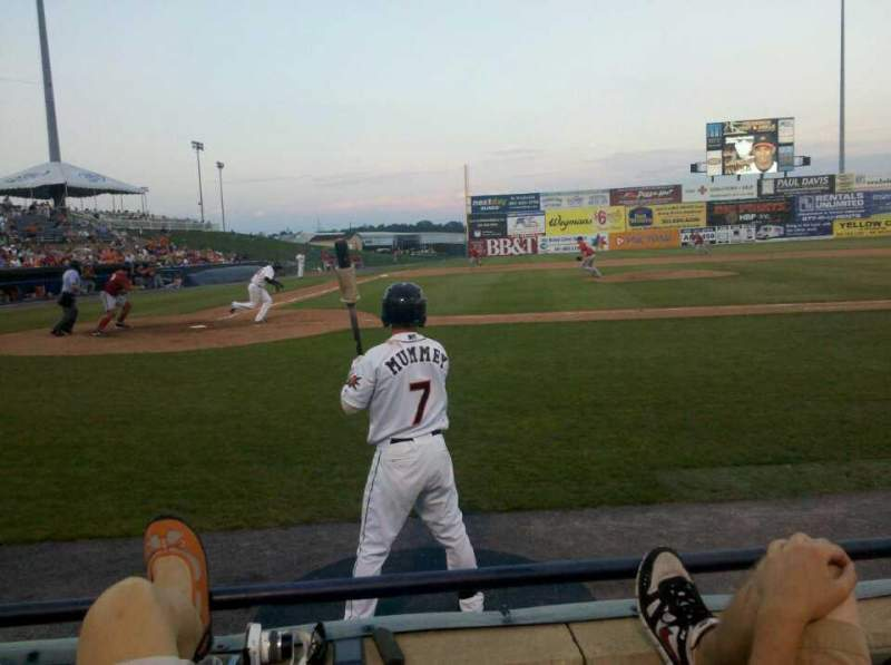 Harry Grove Stadium Section 109 Row B Seat 6 Frederick Keys Vs