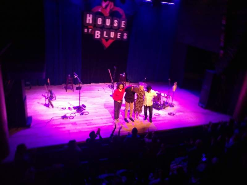 House Of Blues San Diego Section Bal C Row A Seat 102 Morgan