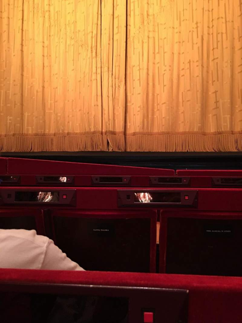 Seating view for Metropolitan Opera House - Lincoln Center Section Orch Row C Seat 112