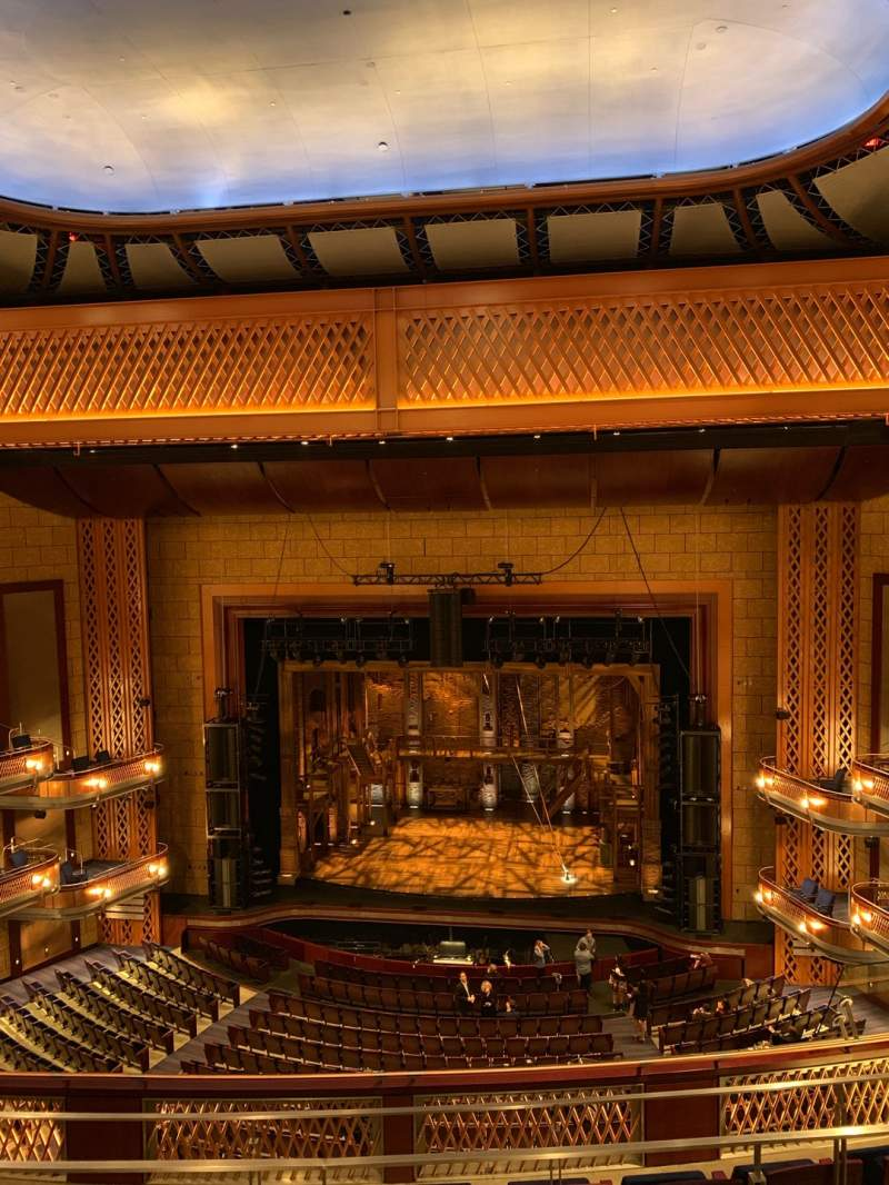 Seating view for Walt Disney Theatre - Dr. Phillips Center Section Balcony Center Row E Seat 121
