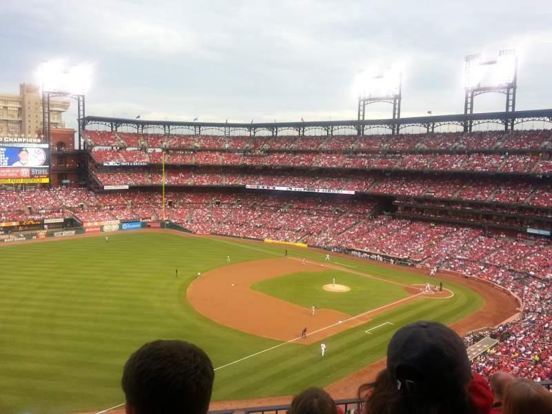 Busch Stadium, section: 363, row: 4, seat: 15