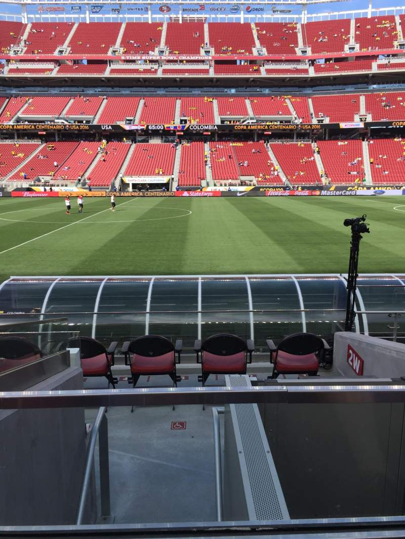 Seating view for Levi's Stadium Section 137 Row 7 Seat 4