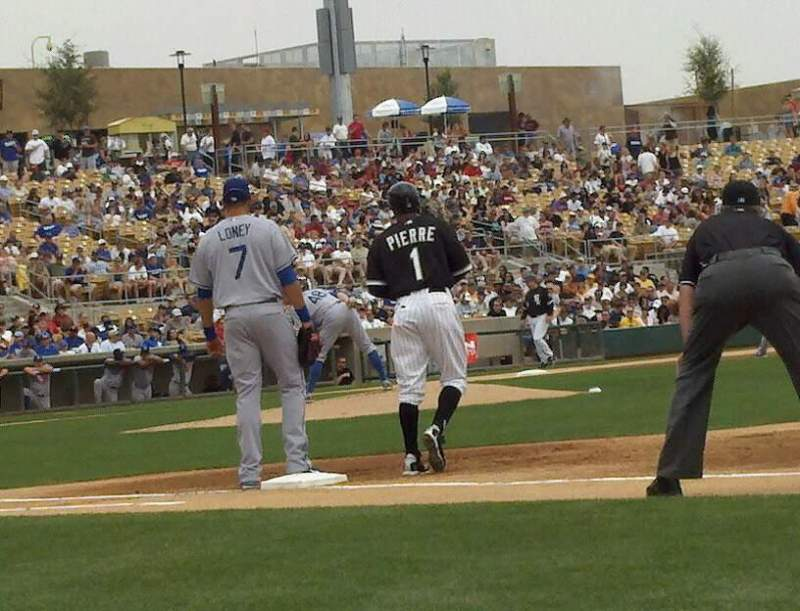 Seating view for Camelback Ranch Section 5 Row 1 Seat 8