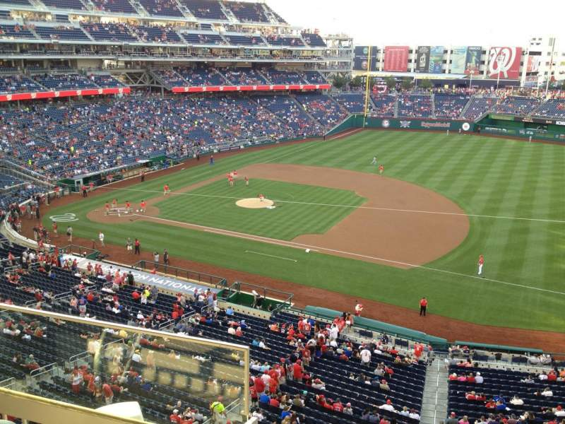 Seating view for Nationals Park Section Jefferson Suite 79 Row A Seat 1