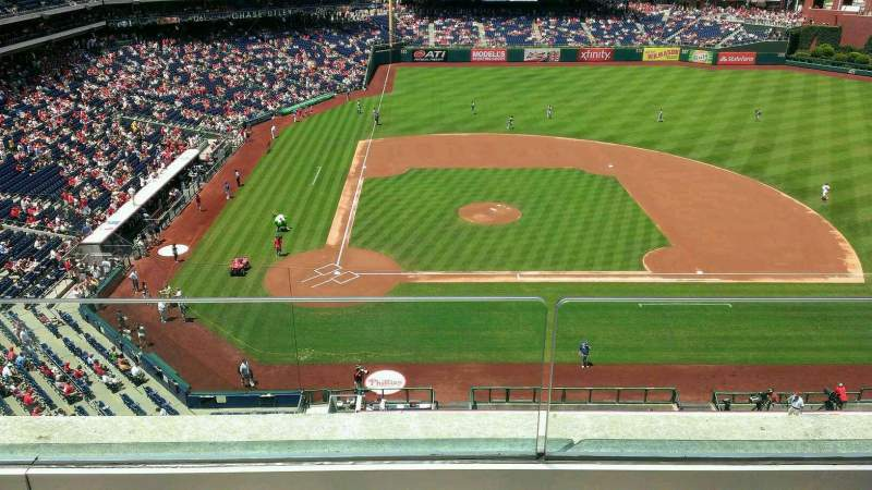 Seating view for Citizens Bank Park Section 316 Row 2 Seat 22