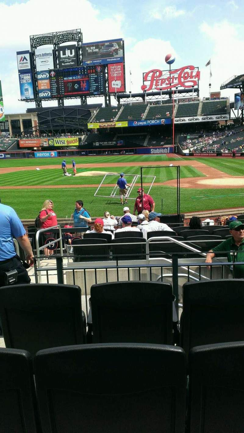Seating view for Citi Field Section 18 Row 12 Seat 12