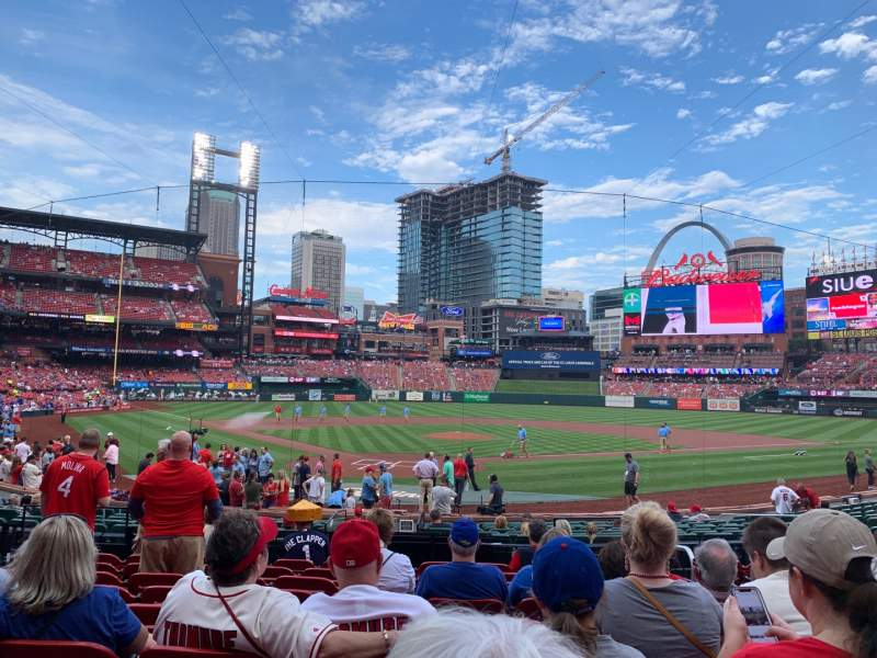 Seating view for Busch Stadium Section 149 Row 9 Seat 9
