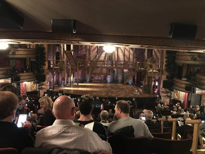 Seating view for Richard Rodgers Theatre Section Orchestra Row U Seat 101