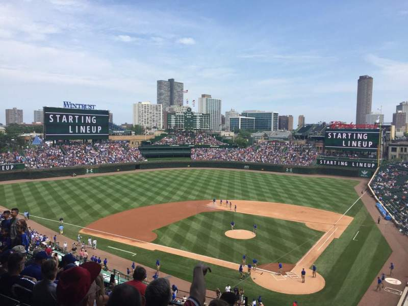 Seating view for Wrigley Field Section 314L Row 8 Seat 4
