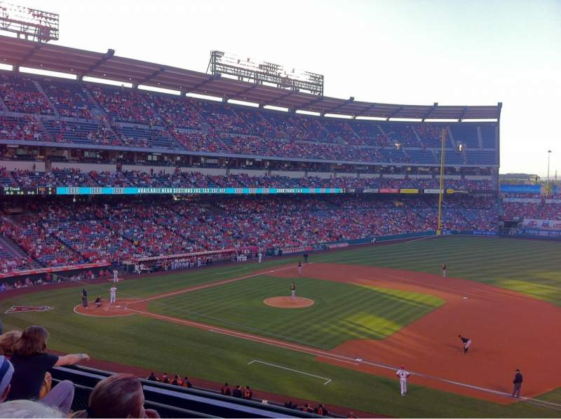 Seating view for Angel Stadium Section C337 Row D Seat 9