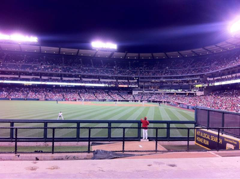 Seating view for Angel Stadium Section P259 Row G Seat 10