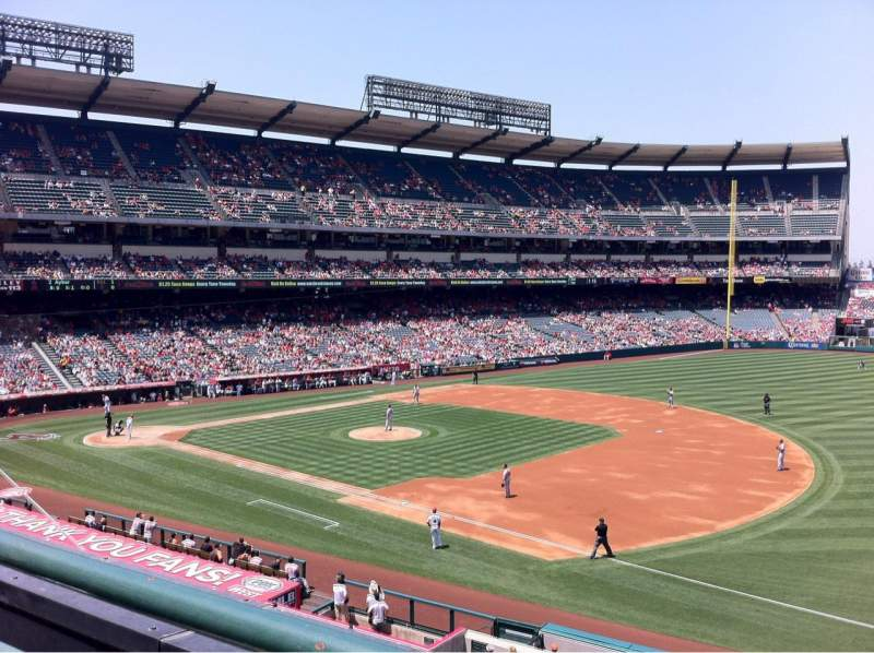 Seating view for Angel Stadium Section C339 Row A Seat 10