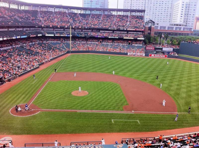 Seating view for Oriole Park at Camden Yards Section 324 Row 2 Seat 13