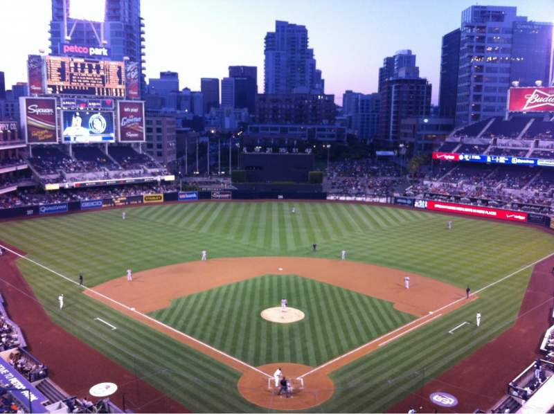 Seating view for Petco Park Section 300 Row 6 Seat 10