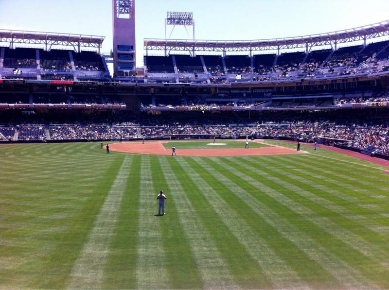 Seating view for Petco Park Section 226 Row 1 Seat 19