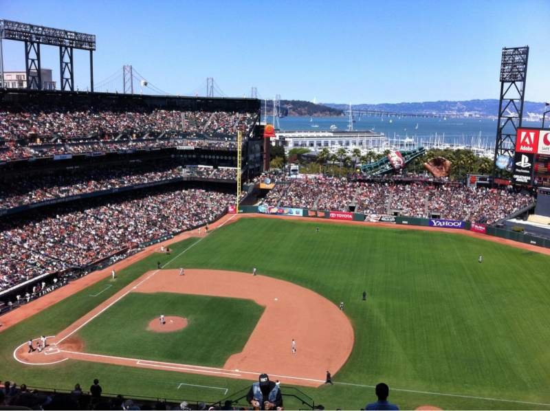 Seating view for AT&T Park Section 305 Row 16 Seat 24