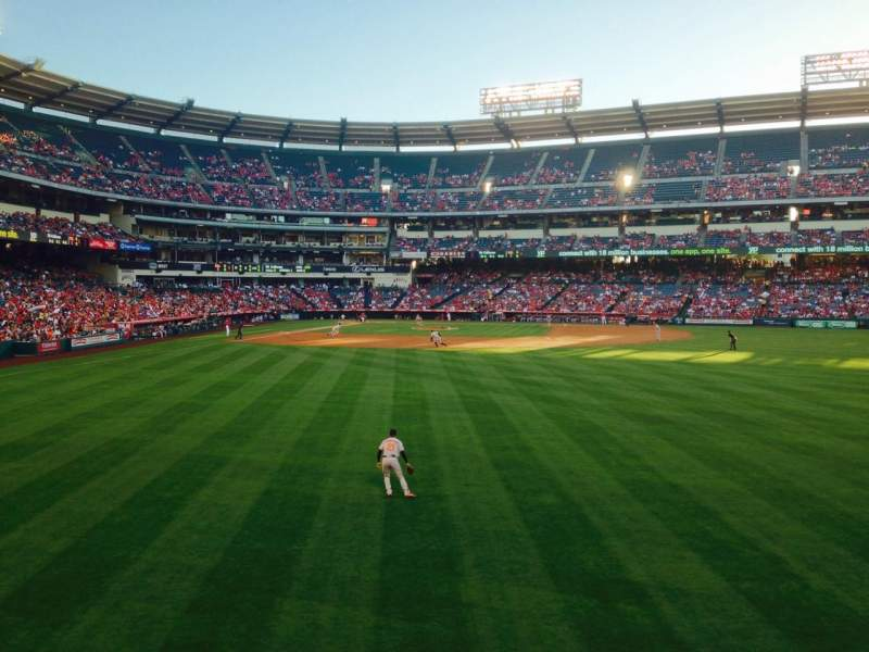 Seating view for Angel Stadium Section P237 Row A Seat 14