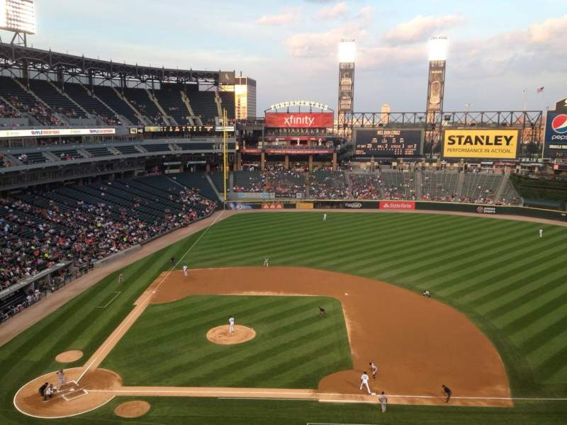 Seating view for U.S. Cellular Field Section 526 Row 2 Seat 3
