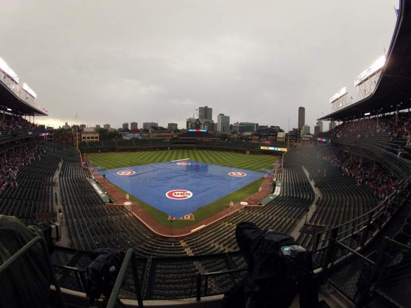 Seating view for Wrigley Field Section 420