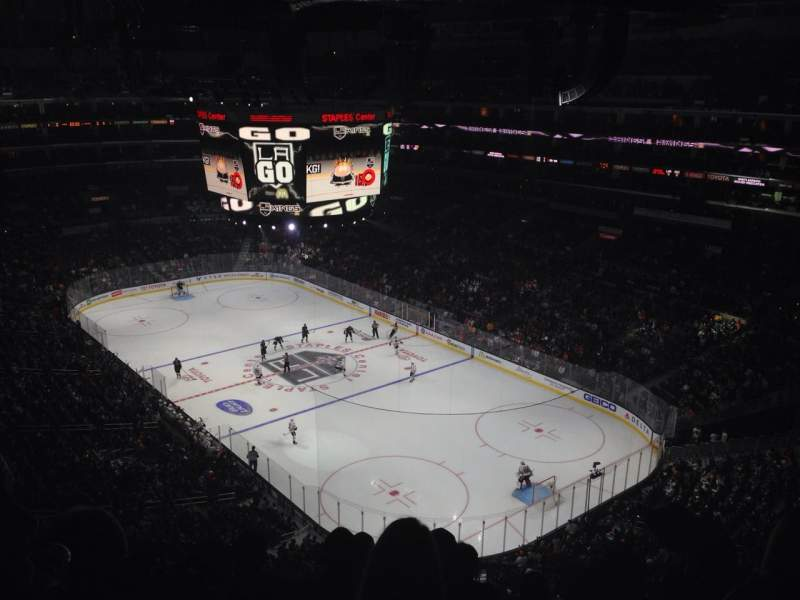 Seating view for Staples Center Section 330 Row 6 Seat 6