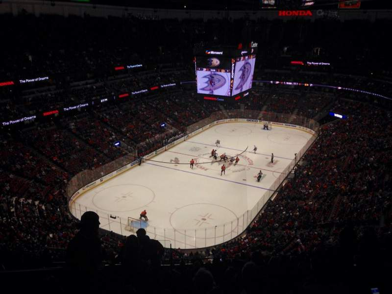 Honda Center, section: 141, row: R, seat: 13