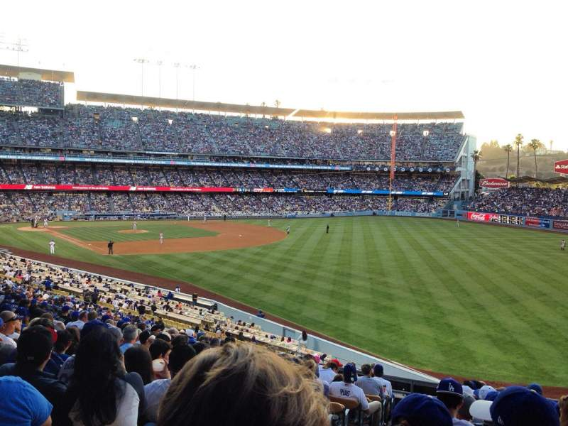 Seating view for Dodger Stadium Section 162LG Row N Seat 2
