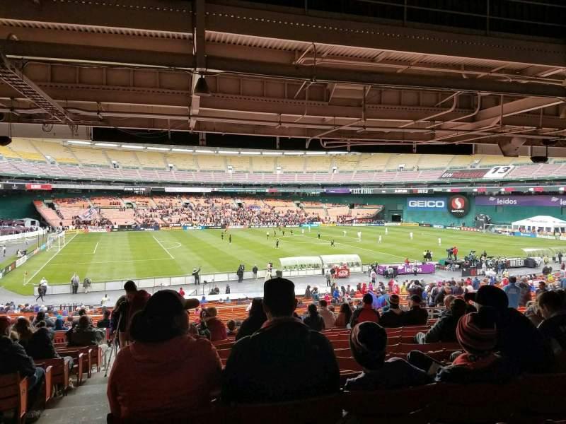 RFK Stadium, section: 310, row: 13, seat: 18