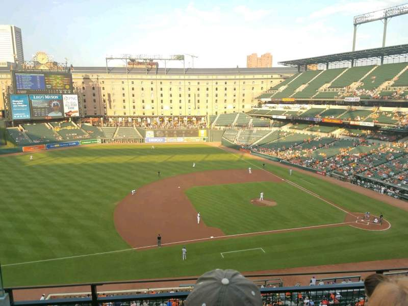 Oriole Park at Camden Yards, section: 356, row: 3, seat: 15