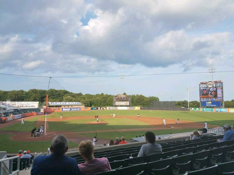 Ripken Stadium, section: 203, row: J, seat: 22