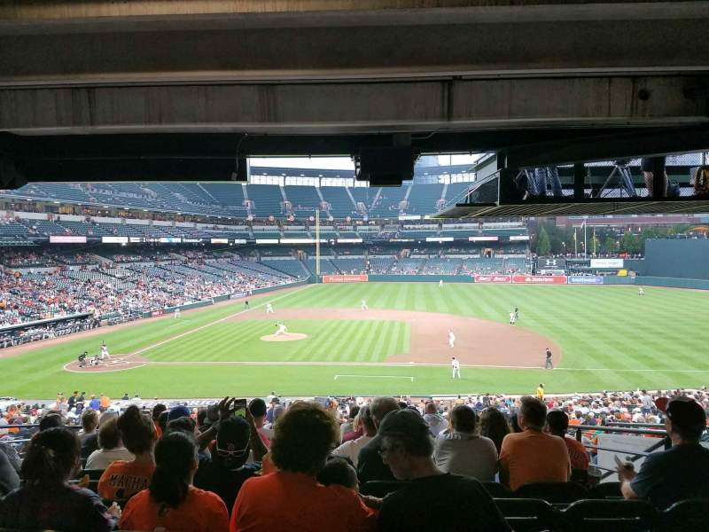 Oriole Park at Camden Yards, section: 19, row: 10, seat: 12