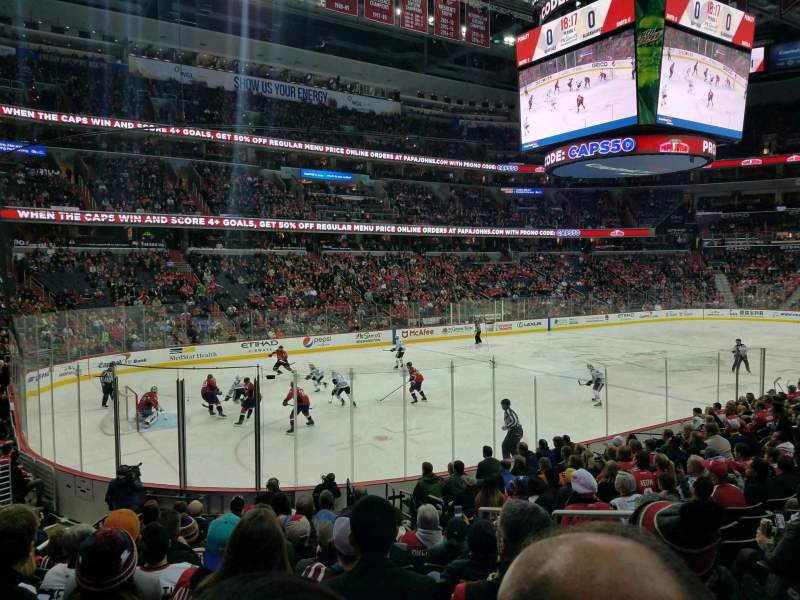 Capital One Arena, section: 119, row: P, seat: 18