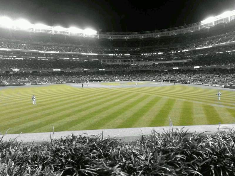 Seating view for Yankee Stadium Section 238 Row 1 Seat 4
