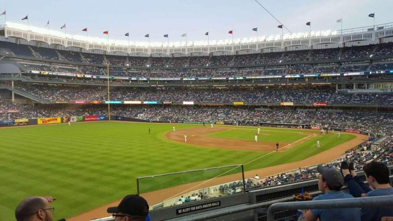 Seating view for Yankee Stadium Section 231 Row 3 Seat 2