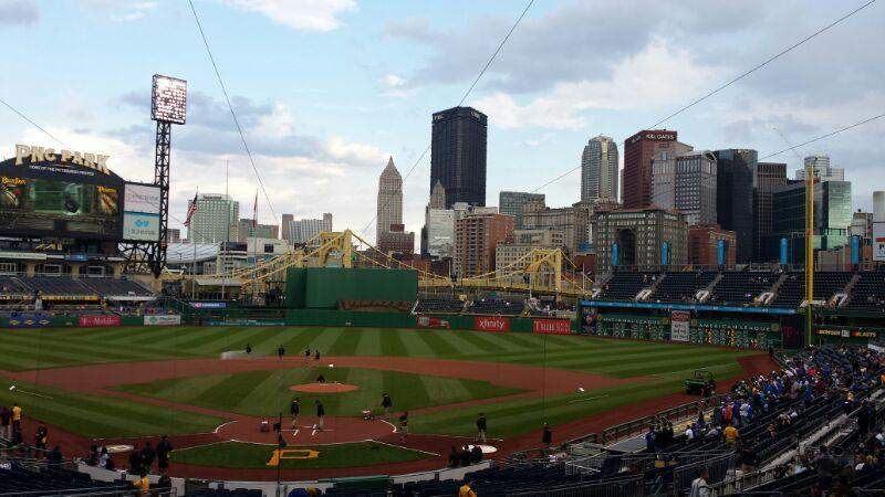 PNC Park, section: Standing Room, row: Standing, seat: Standing