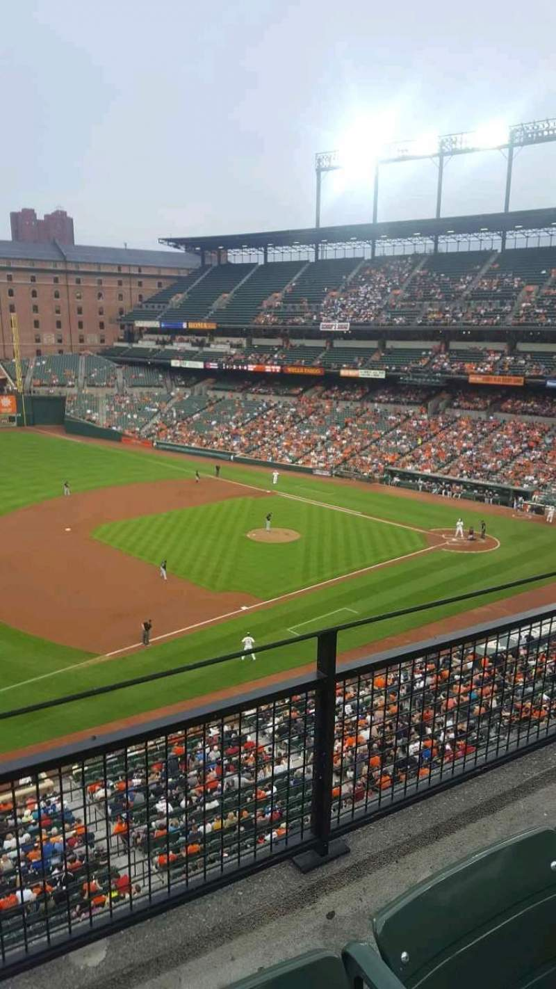 Seating view for Oriole Park at Camden Yards Section 360 Row 2 Seat 21