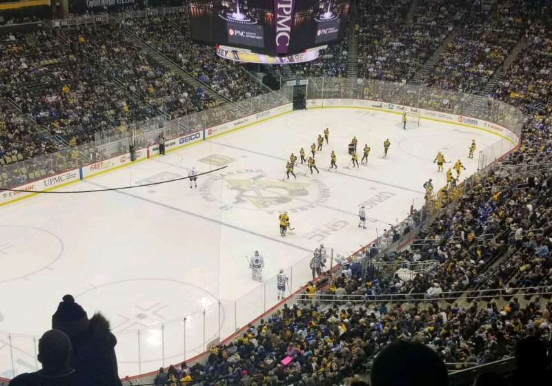 Seating view for PPG Paints Arena Section 207 Row F Seat 14