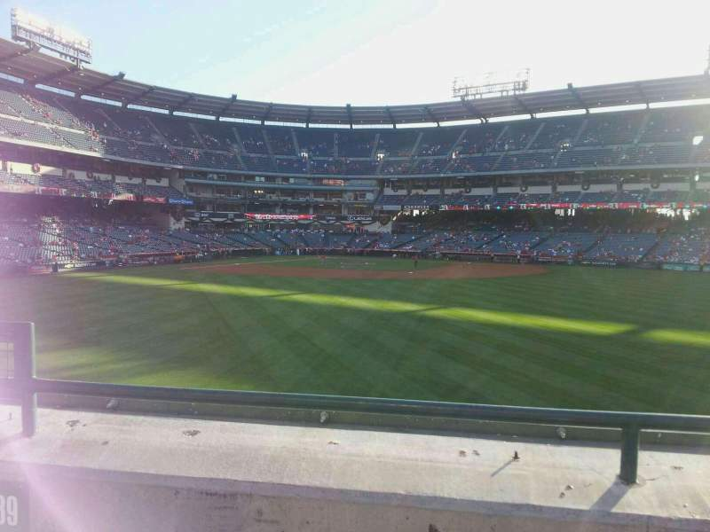 Seating view for Angel Stadium Section P239 Row B Seat 3
